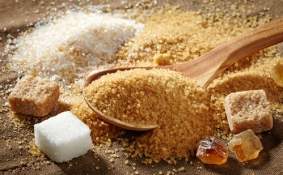 various types of sugar